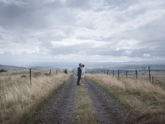 Le mariage de Pierre et Alexia à Mauriac, Cantal 2