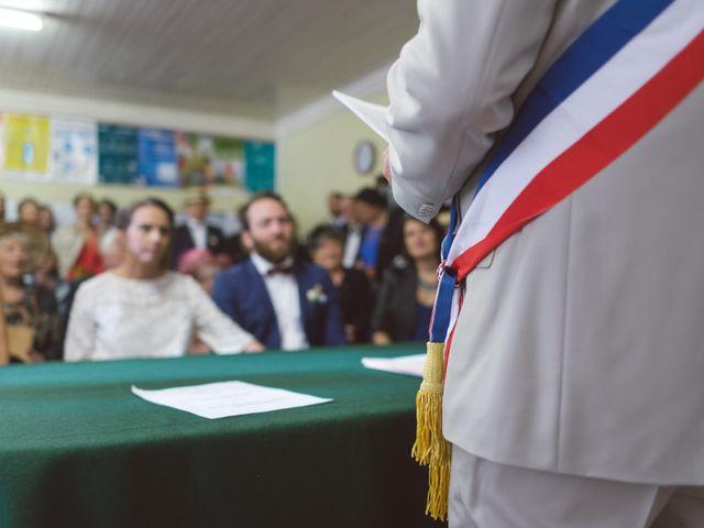 Le mariage de Pierre et Alexia à Mauriac, Cantal 15