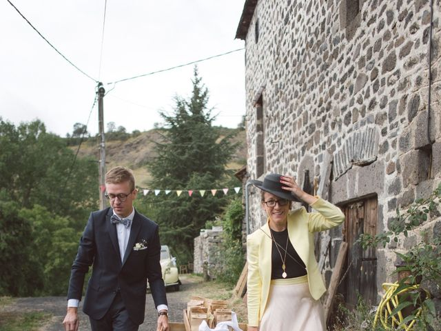 Le mariage de Pierre et Alexia à Mauriac, Cantal 19