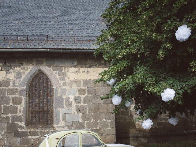 Le mariage de Pierre et Alexia à Mauriac, Cantal 23