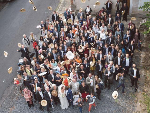 Le mariage de Pierre et Alexia à Mauriac, Cantal 26