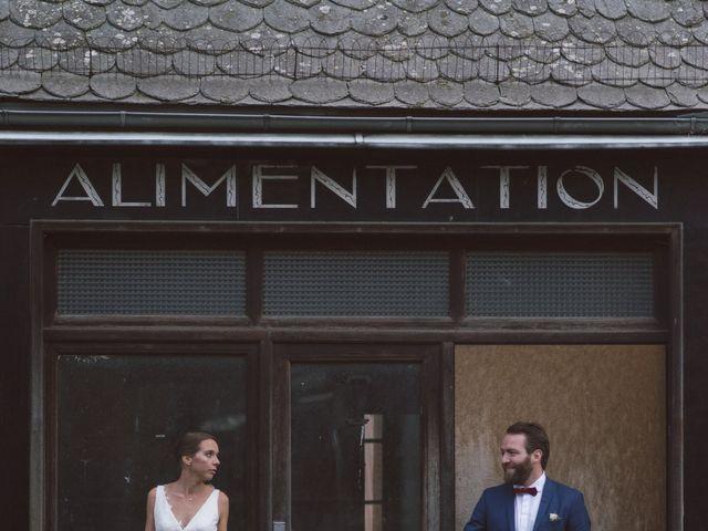 Le mariage de Pierre et Alexia à Mauriac, Cantal 35