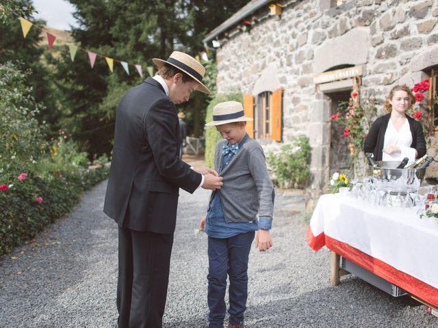 Le mariage de Pierre et Alexia à Mauriac, Cantal 38