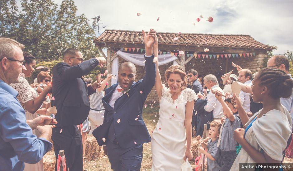 Le mariage de Emmanuel et Emmanuelle à Saint-Valérien, Vendée