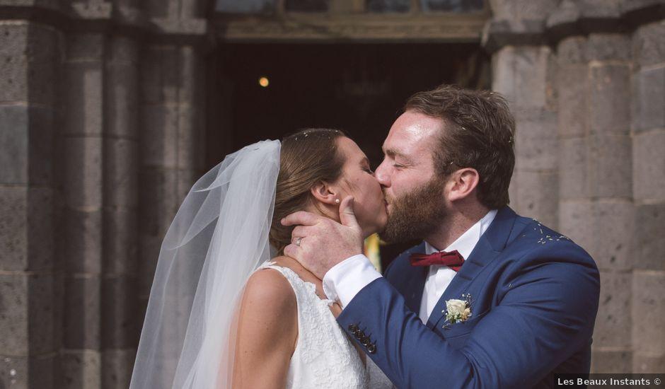 Le mariage de Pierre et Alexia à Mauriac, Cantal