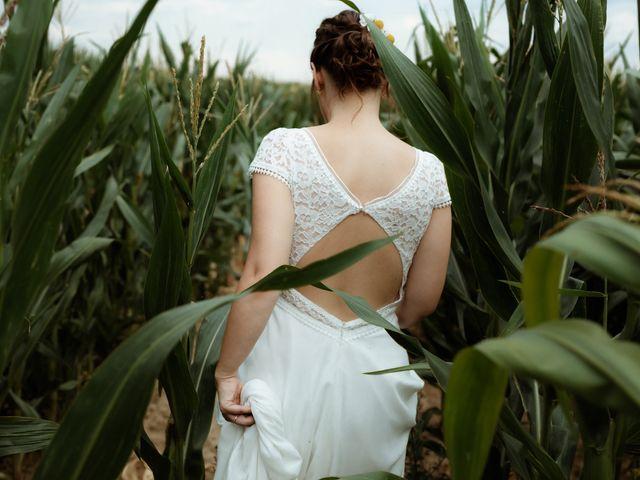 Le mariage de Kévin et Claire-Estelle à Les Andelys, Eure 1
