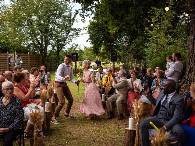 Le mariage de Wilfried et Octavie à Bréal-sous-Montfort, Ille et Vilaine 50