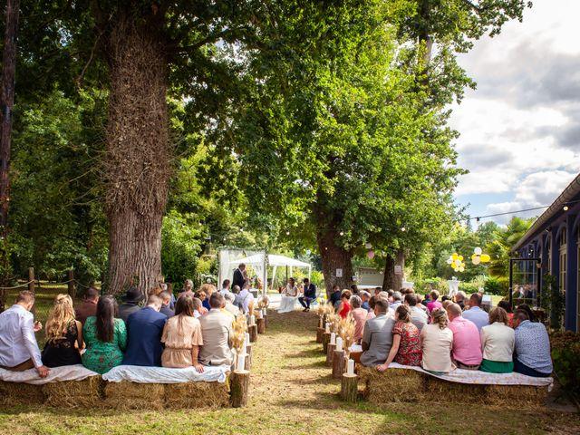 Le mariage de Wilfried et Octavie à Bréal-sous-Montfort, Ille et Vilaine 54