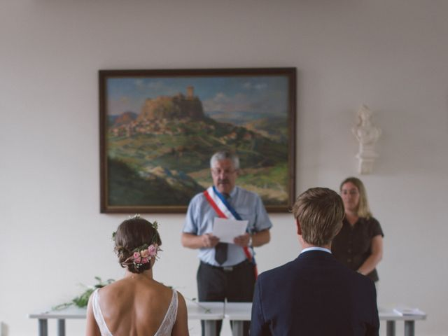 Le mariage de Jean-Baptiste et Anne à Brives-Charensac, Haute-Loire 26