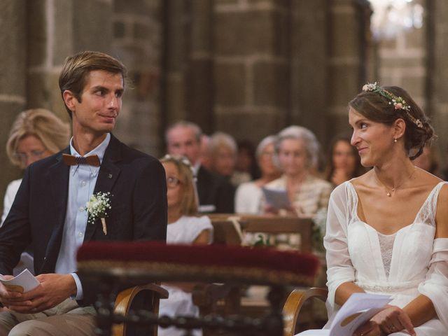 Le mariage de Jean-Baptiste et Anne à Brives-Charensac, Haute-Loire 33