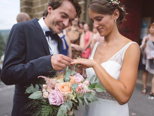Le mariage de Jean-Baptiste et Anne à Brives-Charensac, Haute-Loire 38