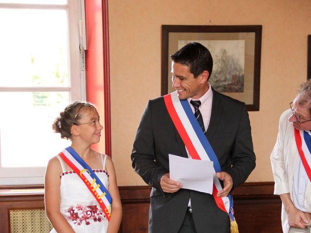 Le mariage de James et Aurélie à Seurre, Côte d'Or 15