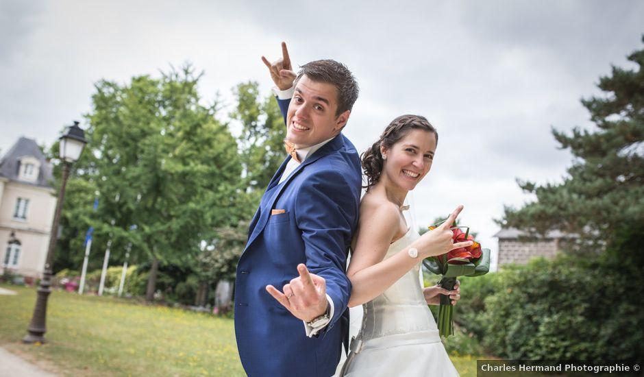 Le mariage de François et Céline à La Chapelle-sur-Erdre, Loire Atlantique