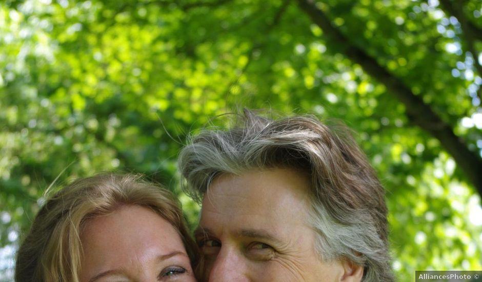Le mariage de Loîck et Oriane à Rouge-Perriers, Eure