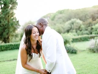 Le mariage de Charlene et André