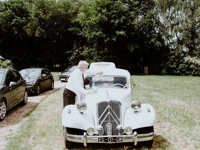 Le mariage de Geo et Lou à Cambremer, Calvados 35