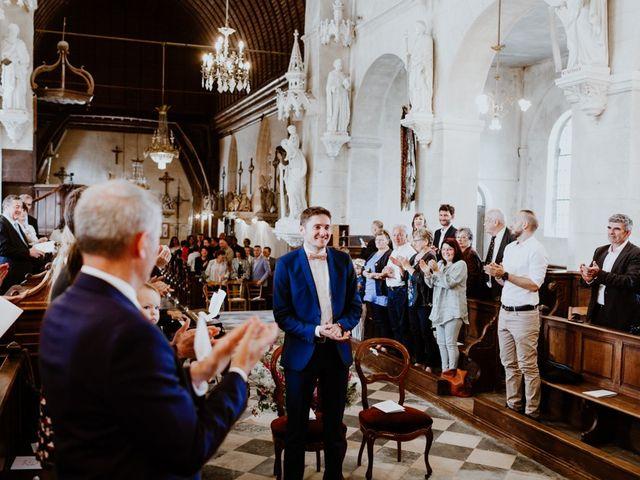 Le mariage de Geo et Lou à Cambremer, Calvados 61
