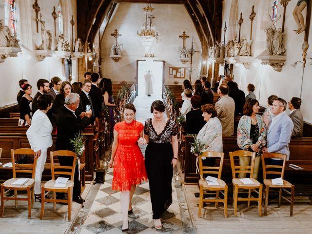Le mariage de Geo et Lou à Cambremer, Calvados 62