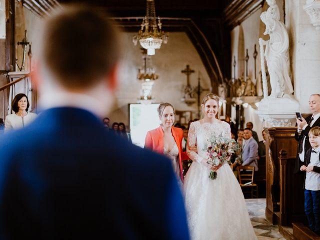 Le mariage de Geo et Lou à Cambremer, Calvados 67