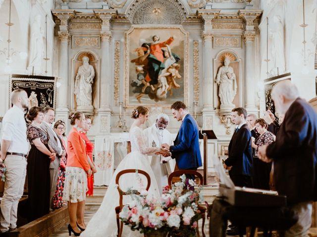 Le mariage de Geo et Lou à Cambremer, Calvados 83