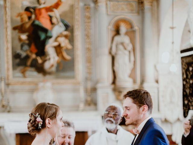 Le mariage de Geo et Lou à Cambremer, Calvados 92
