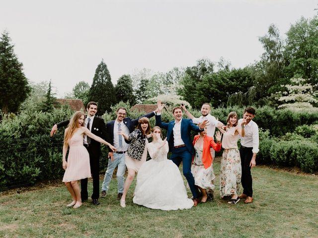 Le mariage de Geo et Lou à Cambremer, Calvados 166