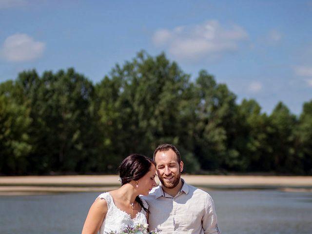 Le mariage de Jérémy et Carla à Gennes, Maine et Loire 35