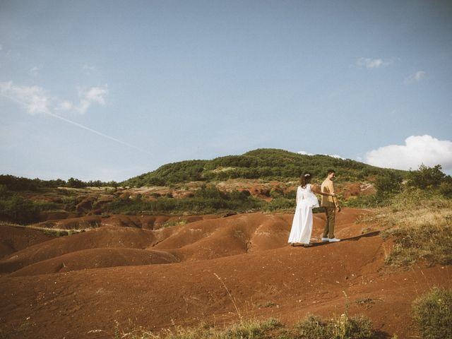 Le mariage de Jérémie et Diane à Camarès, Aveyron 6
