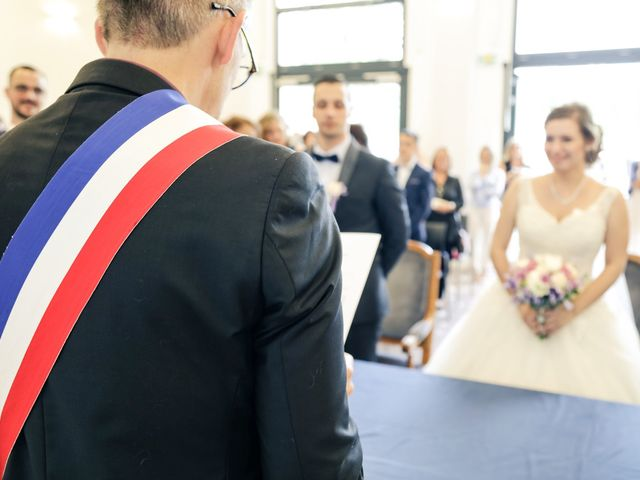 Le mariage de Xavier et Cassandra à Herblay, Val-d'Oise 95
