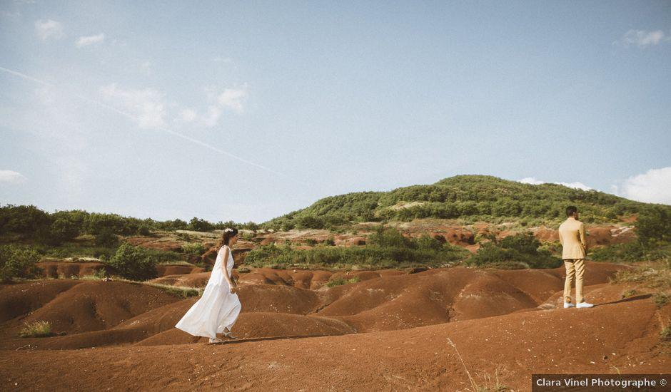 Le mariage de Jérémie et Diane à Camarès, Aveyron