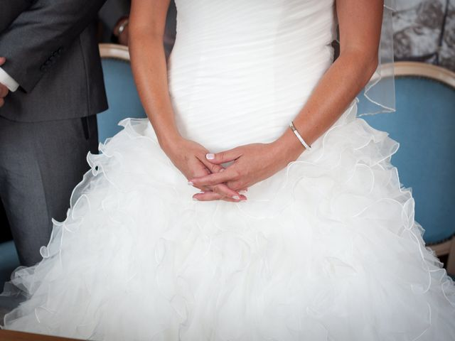 Le mariage de Xavier et Sarah à Pignan, Hérault 15