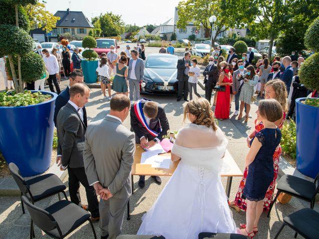 Le mariage de Cédric et Marie à Saint-Erblon, Ille et Vilaine 14