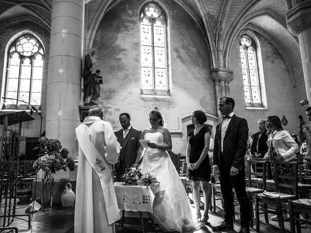 Le mariage de Cédric et Marie à Saint-Erblon, Ille et Vilaine 16