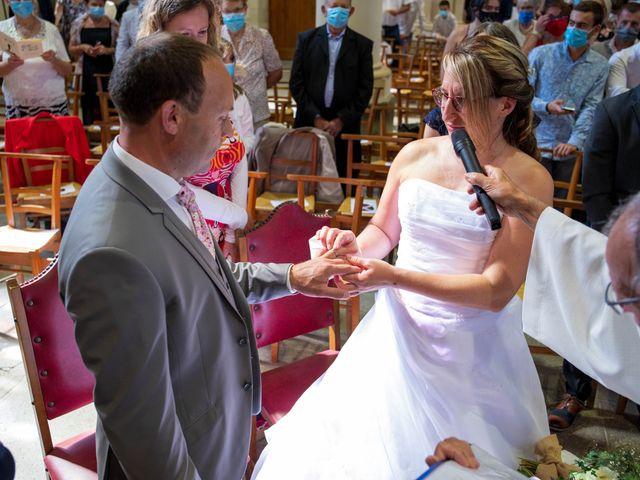 Le mariage de Cédric et Marie à Saint-Erblon, Ille et Vilaine 18