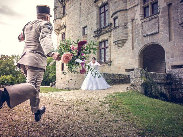 Le mariage de Éric et Corinne à Clergoux, Corrèze 39