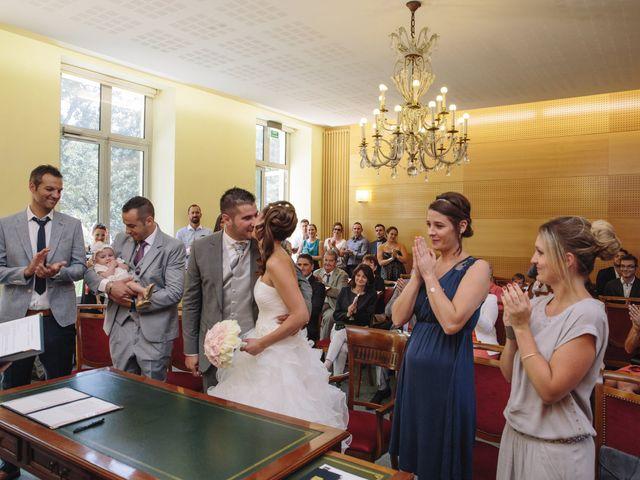 Le mariage de Xavier et Emilie à Saint-Aubin-de-Médoc, Gironde 25