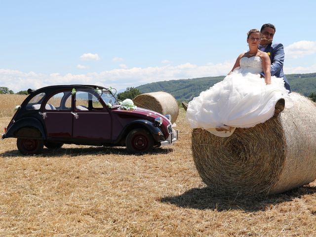 Le mariage de Cédric  et Mélanie à Commelle, Isère 1