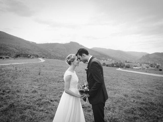 Le mariage de Maël et Anna à Neuve-Église, Bas Rhin 21