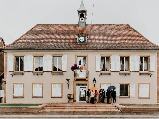 Le mariage de Mikael et Anaïs à Issenheim, Haut Rhin 24