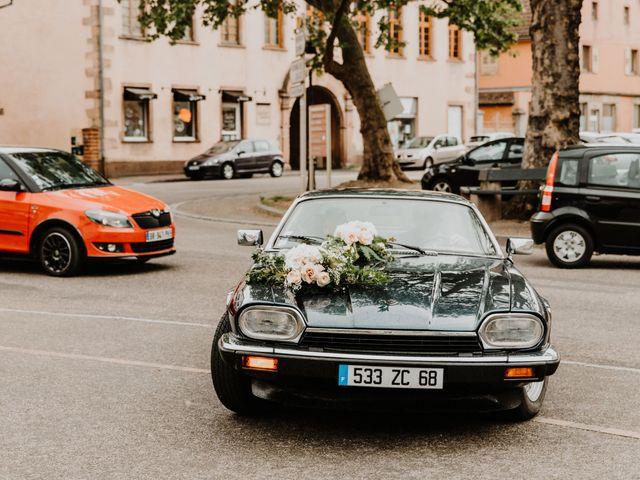 Le mariage de Mikael et Anaïs à Issenheim, Haut Rhin 25