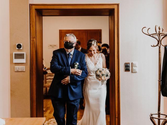 Le mariage de Mikael et Anaïs à Issenheim, Haut Rhin 35