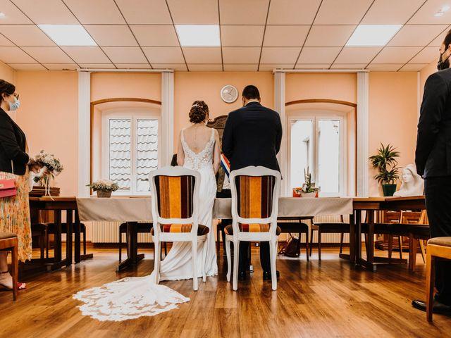 Le mariage de Mikael et Anaïs à Issenheim, Haut Rhin 38