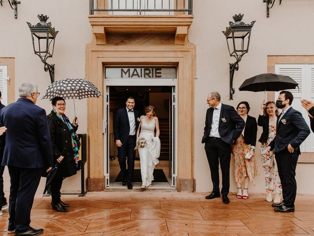 Le mariage de Mikael et Anaïs à Issenheim, Haut Rhin 46