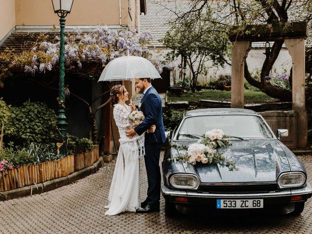 Le mariage de Mikael et Anaïs à Issenheim, Haut Rhin 55