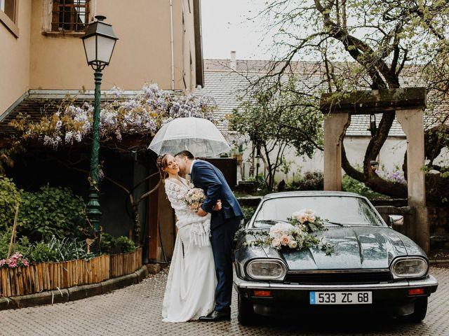 Le mariage de Mikael et Anaïs à Issenheim, Haut Rhin 58