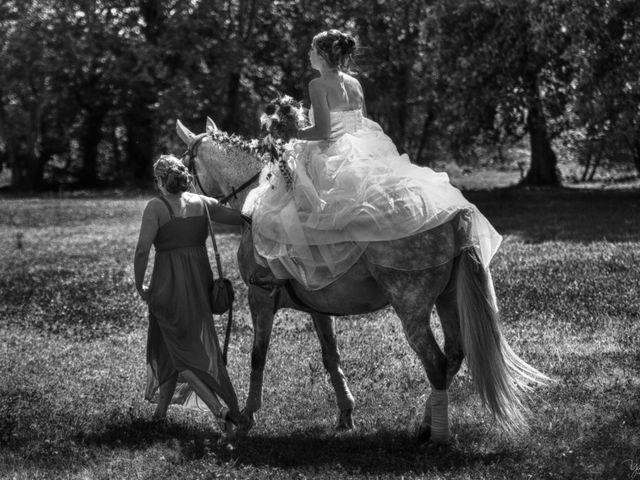Le mariage de Antoine et Clarisse à Ribes, Ardèche 7