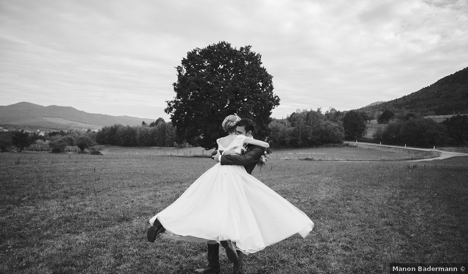 Le mariage de Maël et Anna à Neuve-Église, Bas Rhin