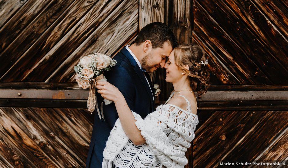 Le mariage de Mikael et Anaïs à Issenheim, Haut Rhin