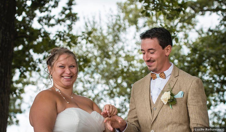 Le mariage de Lucas et Élise à Ingrandes, Maine et Loire