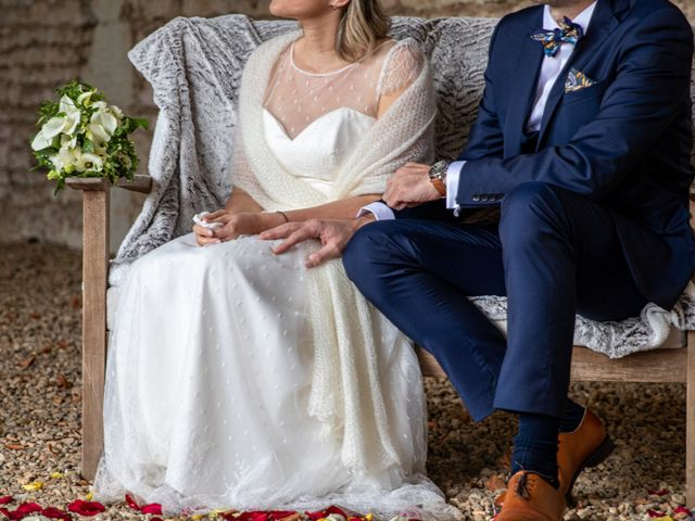 Le mariage de Manuel et Ophélie à Châtellerault, Vienne 44